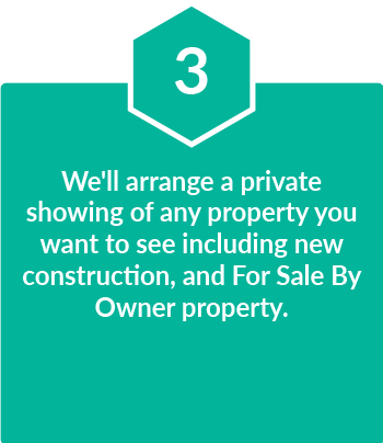 we will arrange a private showing of any property