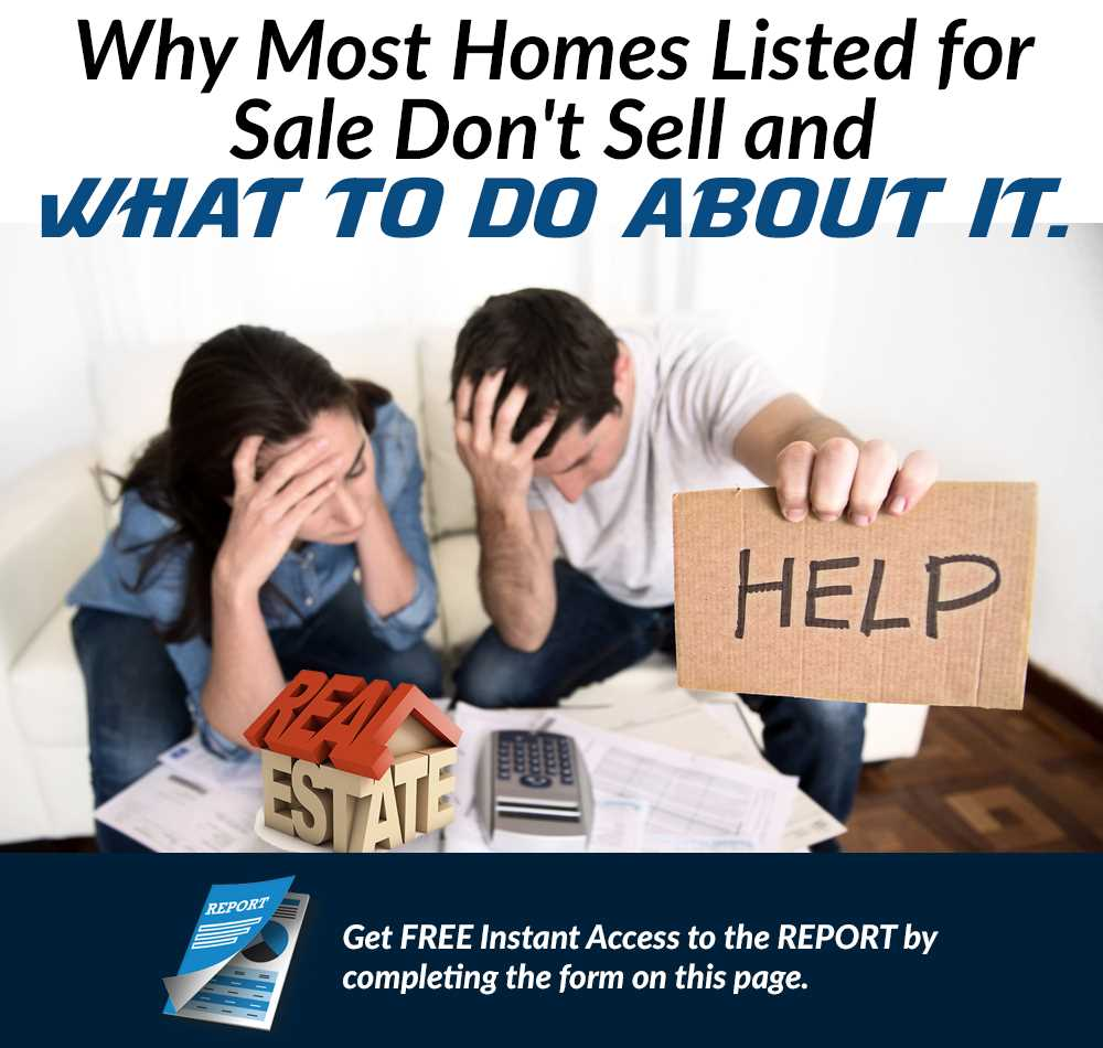 why most homes listed for sale dont sell