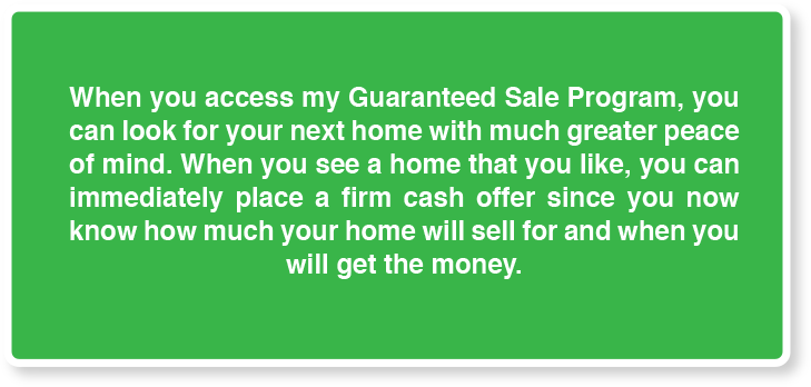 Access My guaranteed Sale Program