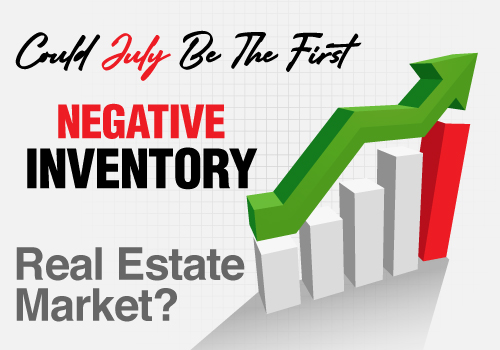 Could July Be The First Negative Inventory Real Estate Market