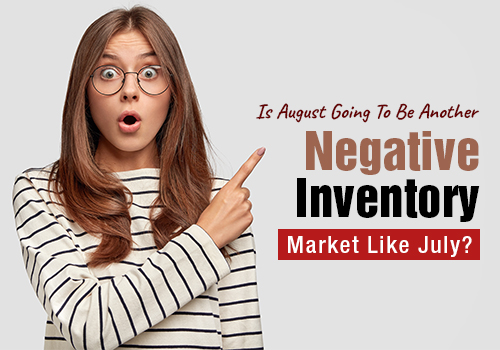 Is August Going To Be Another Negative Inventory Market Like July