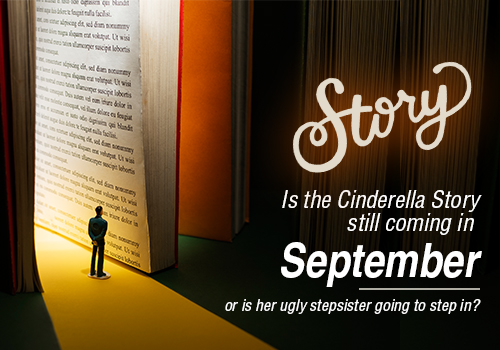 Is the Cinderella Story still coming in September, or is her ugly stepsister going to step in