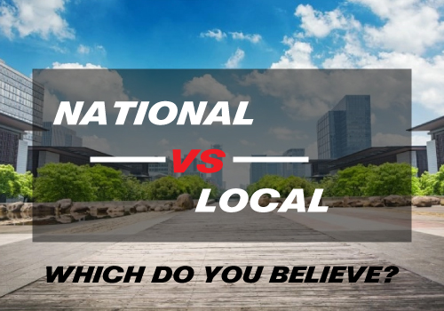 National vs Local Real Estate