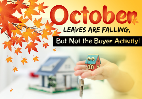 October Leaves are Falling, But Not the Buyer Activity