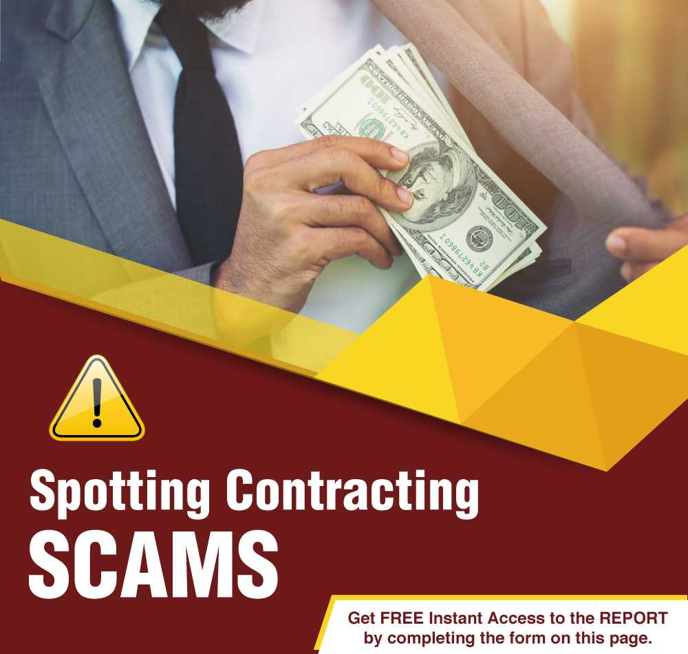 Spotting Contracting Scams