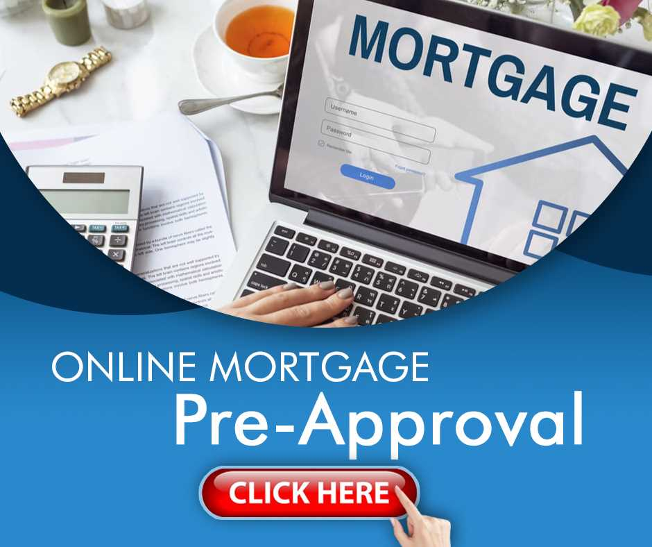 Online Mortgage Pre-Approval