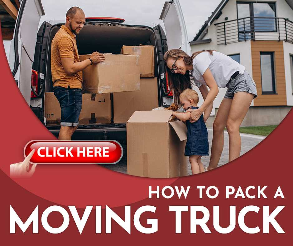 How To Pack A Moving Truck