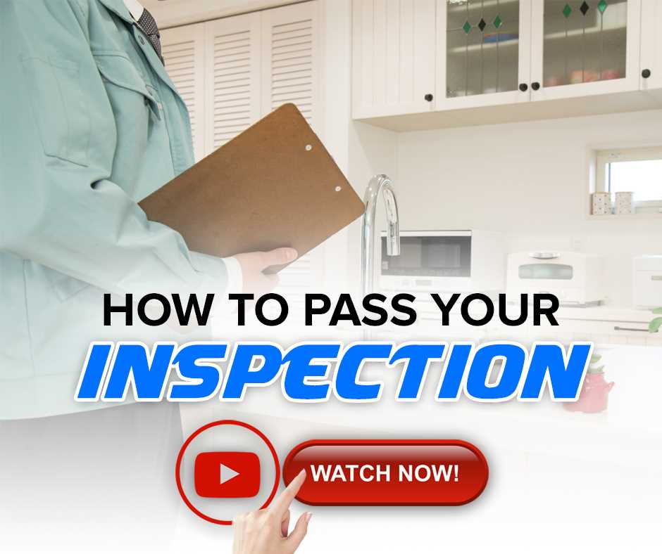 How To Pass Your Inspection